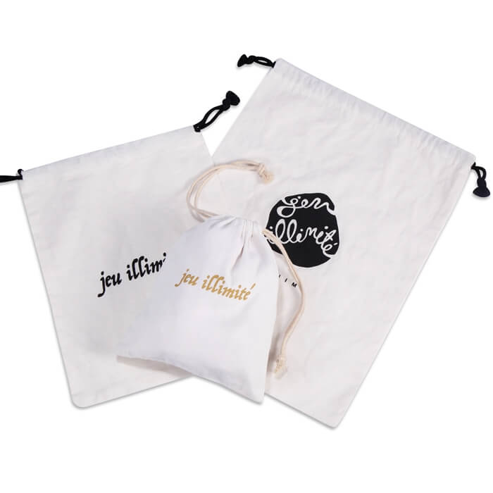 drawstring canvas bags