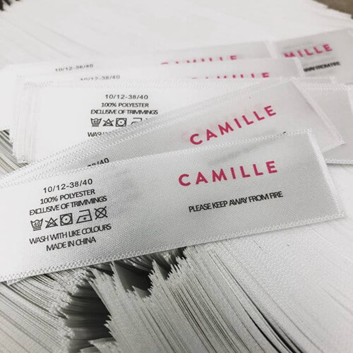 washable clothing labels